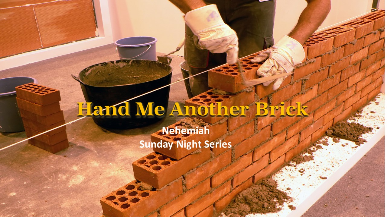 brick layer sermon series